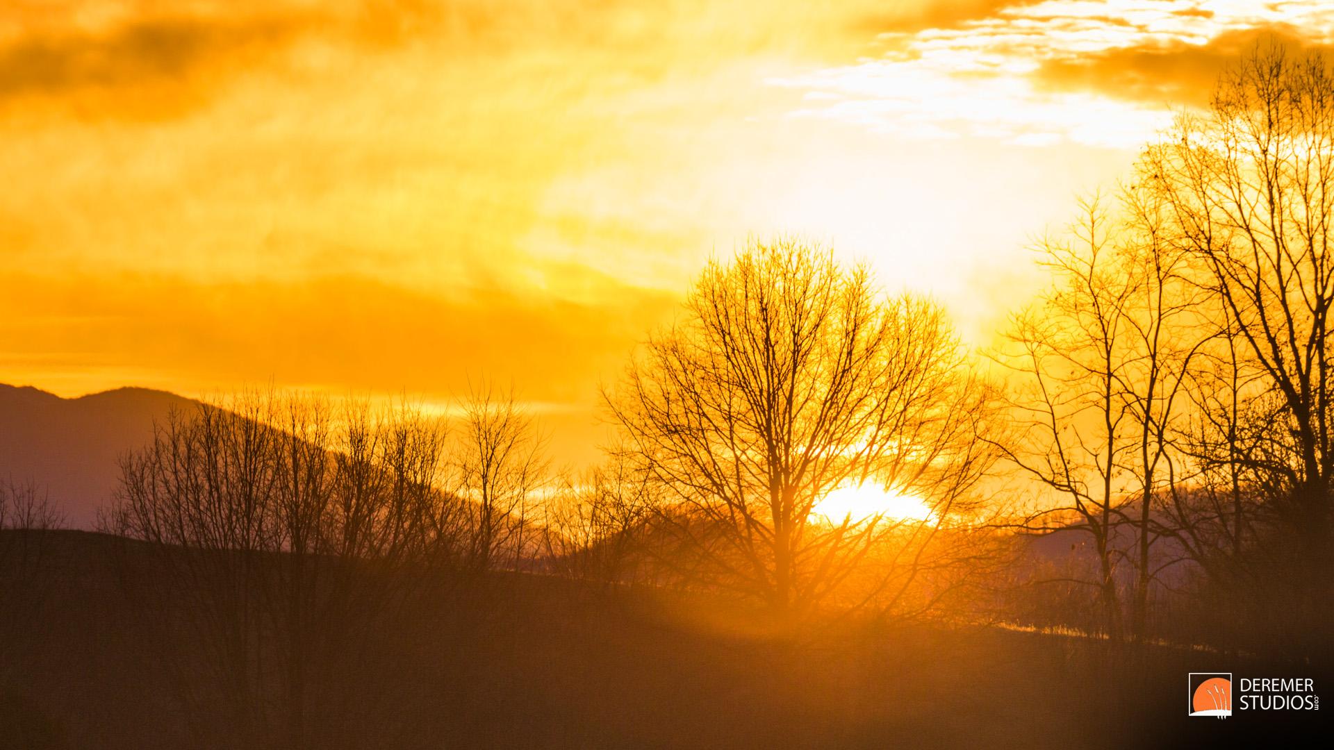 2013 12 Fine 04 Virginia Mountain Sunrise White Top